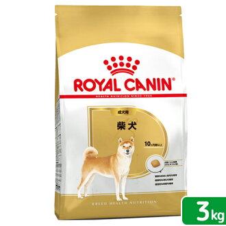 供皇家的迦南BHN柴犬成犬、高龄狗使用的3kg正规的物品3182550823906 5分限度关东当天班