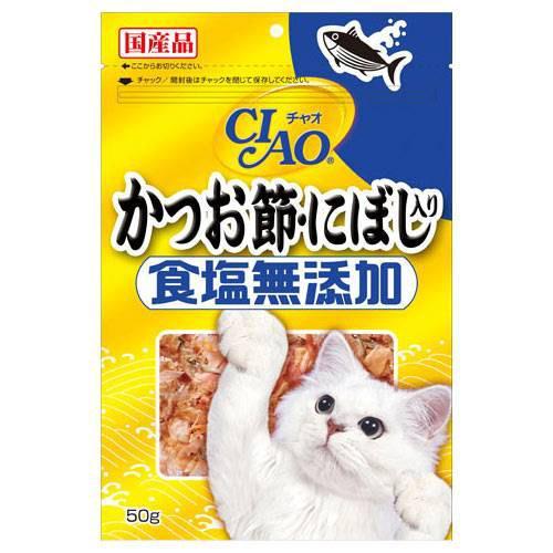 いなば CIAO(チャオ) かつお節・にぼし入り 食塩無添加 50g キャットフード CIAO(チャオ) 関東当日便
