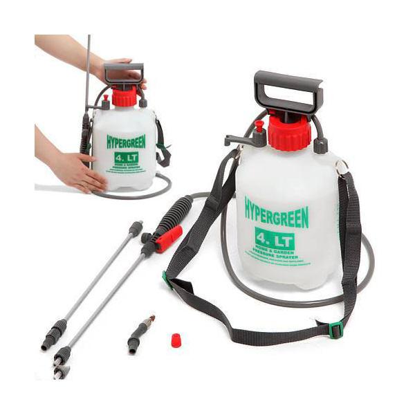 ガーデンスプレー 全自動ハイパー 4L H−4400 蓄圧式噴霧器 除草剤専用ノズル付き 関東当日便