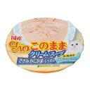 いなば CIAO(チャオ) このままクリームスープ ささみ かにかま・しらす入り 60g お買い得6個入り 関東当日便