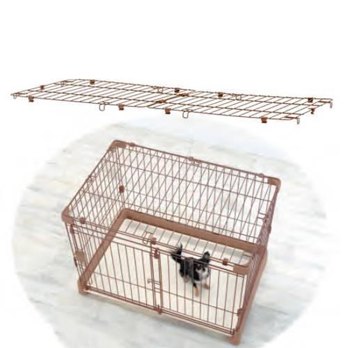 リッチェル ペット用お掃除簡単サークル 120−60 屋根面 ケージ パーツ 関東当日便