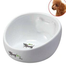 マルカン こぼれにくい陶製食器犬用 S 犬 食器 関東当日便