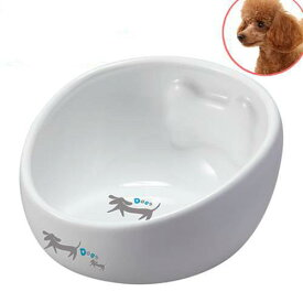マルカン こぼれにくい陶製食器犬用 M 犬 食器 関東当日便