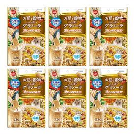マルカン お豆と穀物いっぱいグラノーラ 180g おやつ うさぎ ハムスター 6袋入り 関東当日便