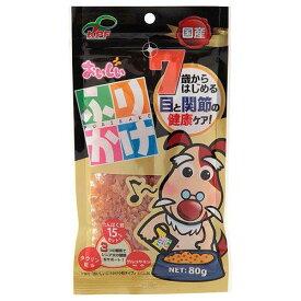 九州ペットフード おいしい7歳からのふりかけ 小粒 80g 犬 おやつ 高齢犬用 関東当日便