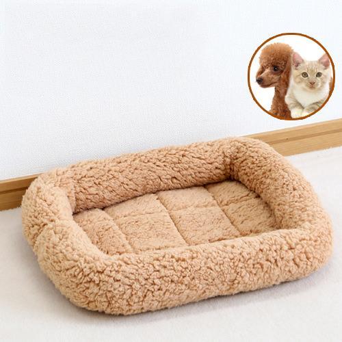 ペットプロ マイライフベッド SS ライトブラウン 犬 猫 ベッド あったか 関東当日便