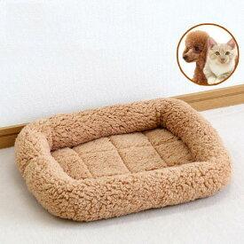ペットプロ マイライフベッド S ライトブラウン 犬 猫 ベッド あったか 関東当日便