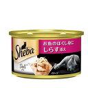 シーバ デリ お魚のほぐし身にしらす添え 85g(缶詰) 24個入り キャットフード シーバ 関東当日便