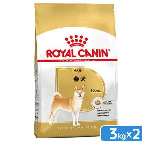 ロイヤルカナン 柴犬 成犬用 3kg×2袋 3182550823906【HLS_DU】 関東当日便