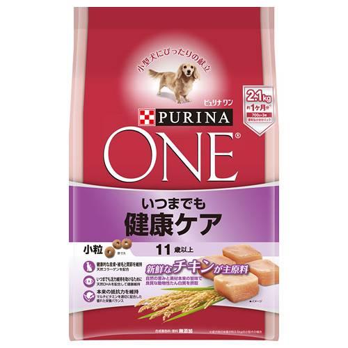 ピュリナワンドッグ 11歳以上 いつまでも健康ケア 小粒 チキン 2.1kg 犬フード 超高齢犬用 関東当日便