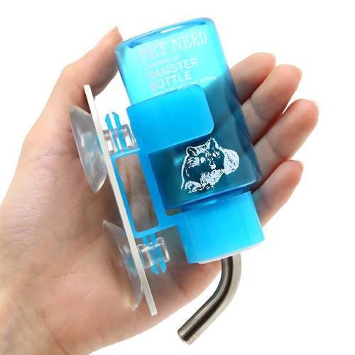 ハムスター用 ペットニード 給水器タイニ(80cc) ウォーターボトル 水飲み器 国産 関東当日便