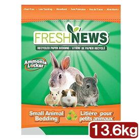 猫砂 お一人様1点限り フレッシュニュース 30LB(13.60kg) 小動物 猫 トイレ 床材 紙 関東当日便