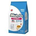 箱売り ペットライン メディファス インドアキャット 1歳から 室内猫用 チキン&フィッシュ味 1.4kg 1箱6袋…