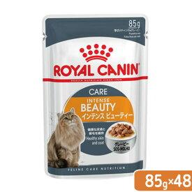 ロイヤルカナン 猫 インテンスビューティー 成猫用 85g 48袋 関東当日便