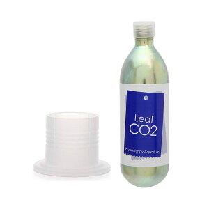 Leaf CO2 ボンベ 74g 1本+ボンベスタンド ナチュラル付き CO2 ボンベ スタンド 関東当日便