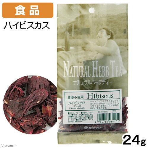 食品 生活の木 ハーブティー ナチュラル ハイビスカス 袋入り 24g アロマ ハーブティー 関東当日便