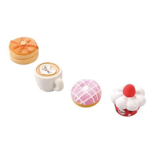 ペティオ スイーツカフェラテックス 1個 (色柄おまかせ) 犬 犬用おもちゃ 関東当日便