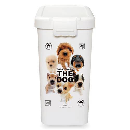 THE DOG フードボックス L ホワイト フードストッカー 関東当日便