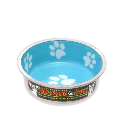 プラッツ マジェスティックボウル S ターコイズブルー 犬 猫 食器 関東当日便
