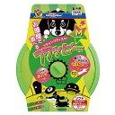 ドギーマン フライングディスク フワッピー M 室内用 小型犬用 犬 おもちゃ 関東当日便