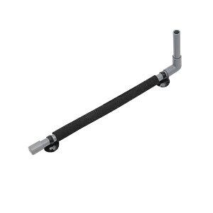バブルチューブ 長さ120cm(直径26/17mm)シングルセット ブロワー専用拡散器 関東当日便