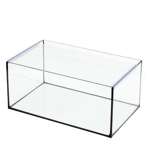ブラックシリコン オールガラス水槽 アクロ45Nフラット(45×27×20cm) 45cm水槽(単体) Aqullo お一人様1点限り 関東当日便