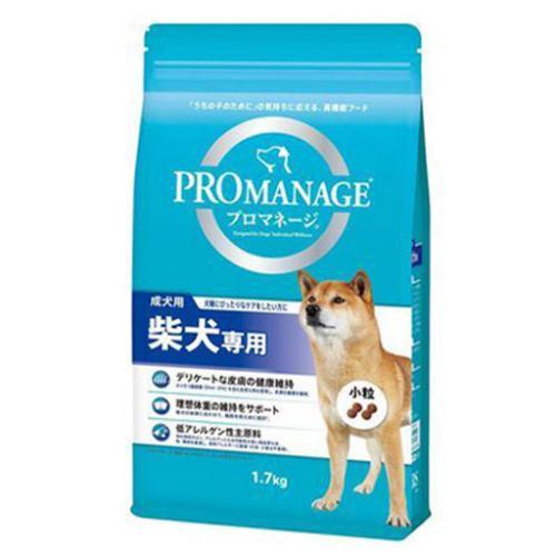プロマネージ 成犬用 柴犬専用 1.7kg ドッグフード 5袋 関東当日便