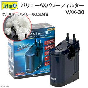 テトラ バリューAXパワーフィルター VAX−30 + ゲルキューブ スモール 0.5リットル 水槽用外部フィルター 関東当日便