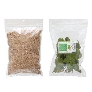 ミルワーム専用 栄養強化セット(ふすま500g+乾燥ほうれん草10g)昆虫 ワーム 餌(エサ) 関東当日便