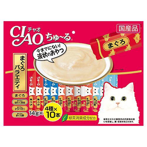 いなば CIAO(チャオ) ちゅ〜る 40本 まぐろバラエティ 14g×40本 関東当日便