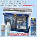 お一人様1点限り テトラ オールグラスRA−60VXパワーフィルター LED・ヒーター付オリジナルお買い得セット 関東当日便