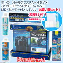 お一人様1点限り テトラ オールグラスRA−45VXパワーフィルター LED・ヒーター付オリジナル お買い得セット おまけつき 関東当日便