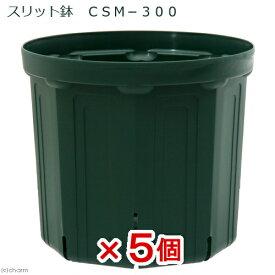 スリット鉢 CSM−300 5個入り ガーデニング 鉢 お一人様1点限り 関東当日便