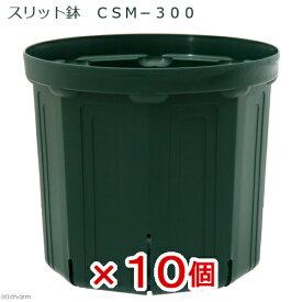 スリット鉢 CSM−300 10個入り ガーデニング 鉢 お一人様1点限り 沖縄別途送料 関東当日便