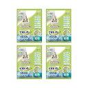 デオトイレ ふんわり香る消臭・抗菌サンド 3.8L 猫 猫砂 4袋入り お一人様1点限り 関東当日便