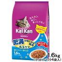 カルカン ドライ 肥満が気になる猫用 毛玉ケア まぐろと野菜味 1.6kg (小分けパック4袋入) 関東当日便