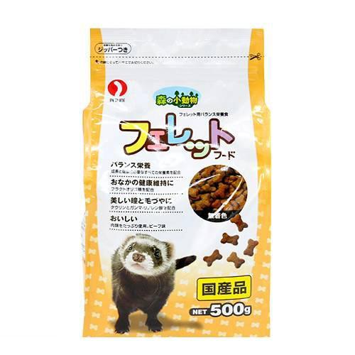 森の小動物シリーズ フェレットフード 500g 12袋入 関東当日便