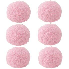 アドメイト マシュマロボール ピンク 猫 おもちゃ 6個入り 関東当日便