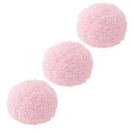 アドメイト マシュマロボール ピンク 猫 おもちゃ 3個入り 関東当日便