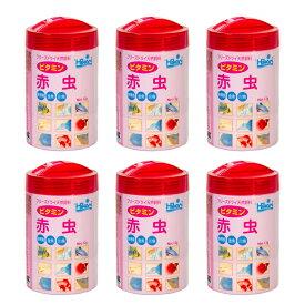 キョーリン ひかりFD ビタミン 赤虫(アカムシ) 12g 6個セット 金魚のえさ 関東当日便