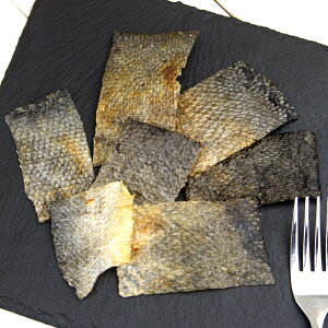 国産 パリパリ鮭の皮チップス 30g 無添加 無着色 犬猫用おやつ ぱっくん亭 関東当日便