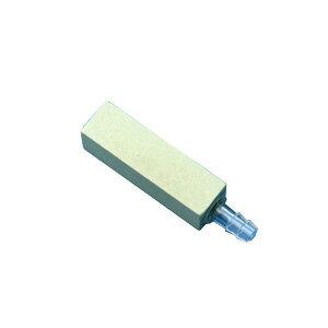 CO2拡散器 コケが目立ちにくいCO2ストーン 緑 角型 6mm耐圧チューブ対応 関東当日便