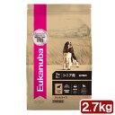 ユーカヌバ シニア ラム&ライス 2.7kg シニア用 全犬種用 7歳以上 ジップ付 Eukanuba 関東当日便