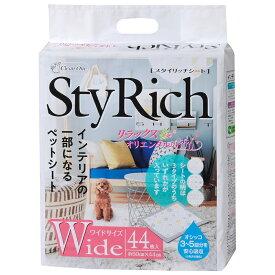 シーズイシハラ クリーンワン スタイリッチシート リラックスオリエンタルの香り ワイド44枚 関東当日便
