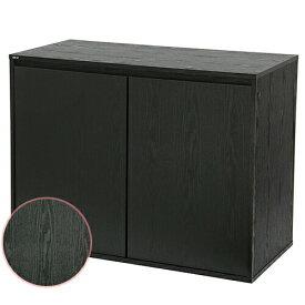 同梱不可・中型便手数料 GEX アクアラック ウッド 900BK 水槽台 才数180