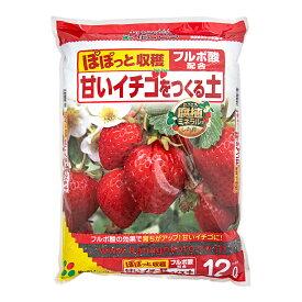 花ごころ 甘いイチゴをつくる土 12L お一人様4点限り 関東当日便