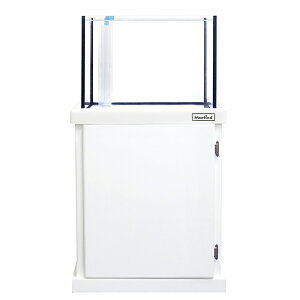 □(組立済)メーカー直送 マーフィード オアシス600 ホワイト オーバーフロー水槽 別途送料