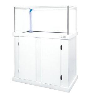 □(組立済)メーカー直送 マーフィード オアシス900 ホワイト オーバーフロー水槽 別途送料