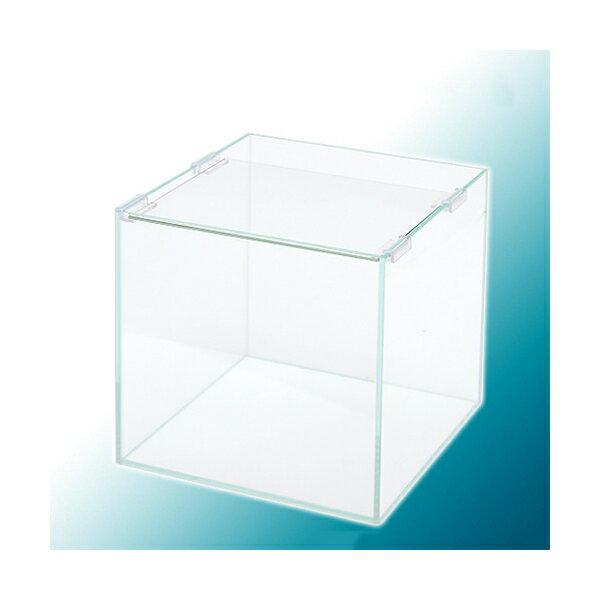 25cmキューブ水槽(単体)スーパークリア アクロ25S(25×25×25cm)オールガラス水槽 Aqullo お一人様2点限り 関東当日便