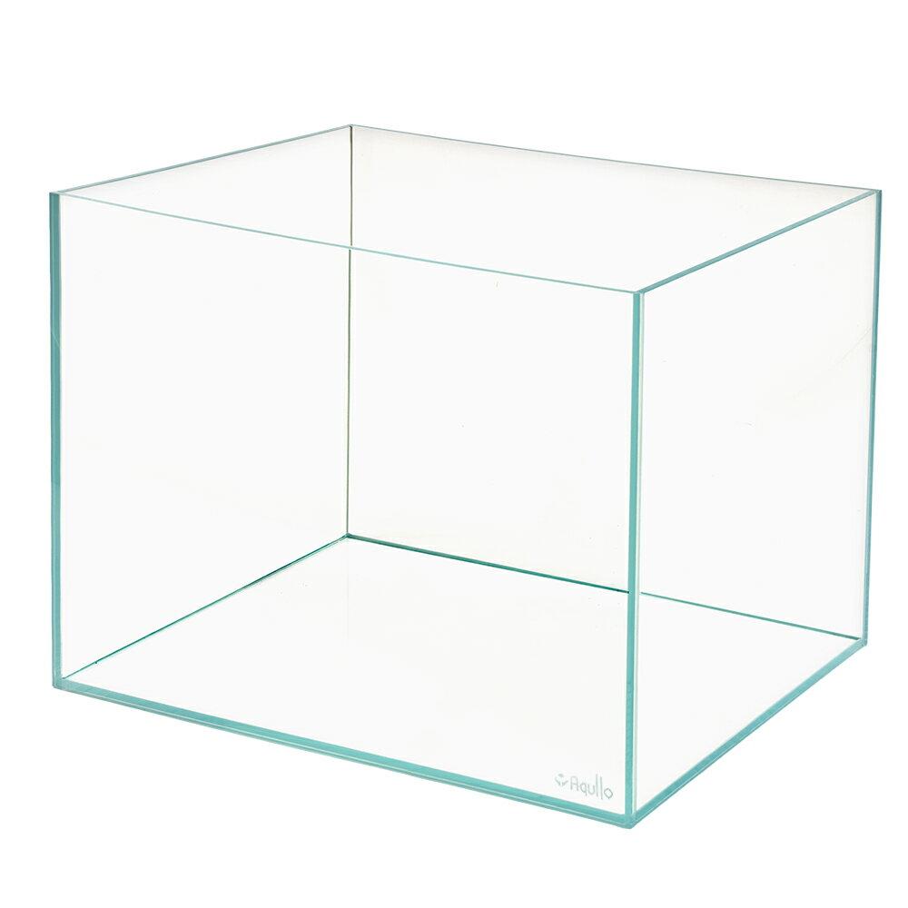同梱不可・中型便手数料 スーパークリア オールガラス水槽 アクロ60S45(60×45×45cm)フタ無し(単体) Aqullo 才数170